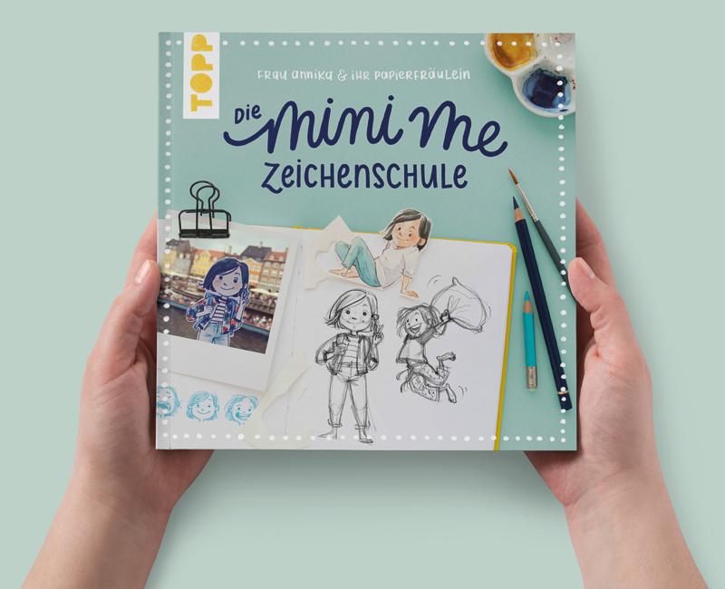 mini me zeichenschule illustration frau annika